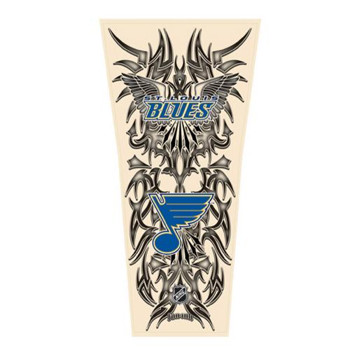 NHL Tribal Tattoo Sleeve (Mens One Size) - St. Louis Blues