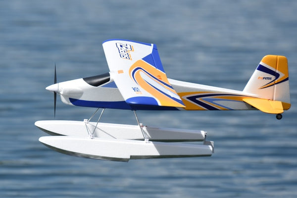 FMS RC Airplane 1220mm Super EZ V2 Trainer Beginner Water Plane 3S 4CH With Floats PNP