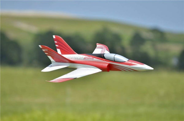 FMS RC Airplane Super Scorpion 70mm Ducted Fan EDF Jet Red 4S High Speed Sports Model Plane Aircraft Avion PNP