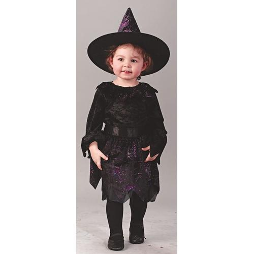 WITCH SPIDERWEB GLITTER TOD LG
