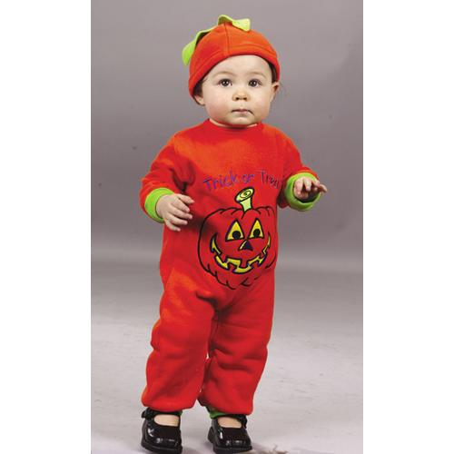 PUMPKIN JUMPSUIT 6 TO 12 MONTH