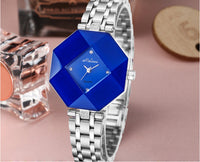 Montre Femme Designer Women Watch Crystal Frame Steel Bracelet