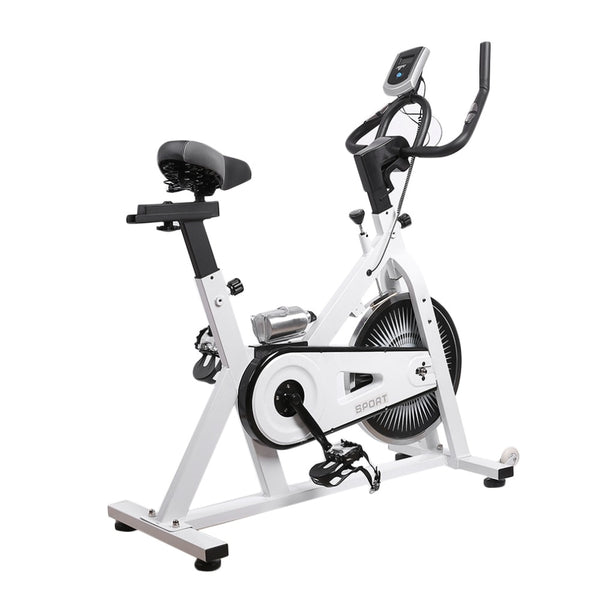 Fitness cardio exercise bike cycle workout gym machine trainer