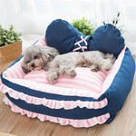 Foldable Winter Warm Kennel Cat Puppy Bed Pet Dog Bed Warm Cat Kennel Puppy Waterproof Pet Supplies Cat Dog Bed Dog Accessories