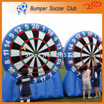 Free shipping ! Free Pump! 3m/4m/5m/6m/7m Super blue Inflatable Dart Board ,inflatable soccer dart board games,outdoor play