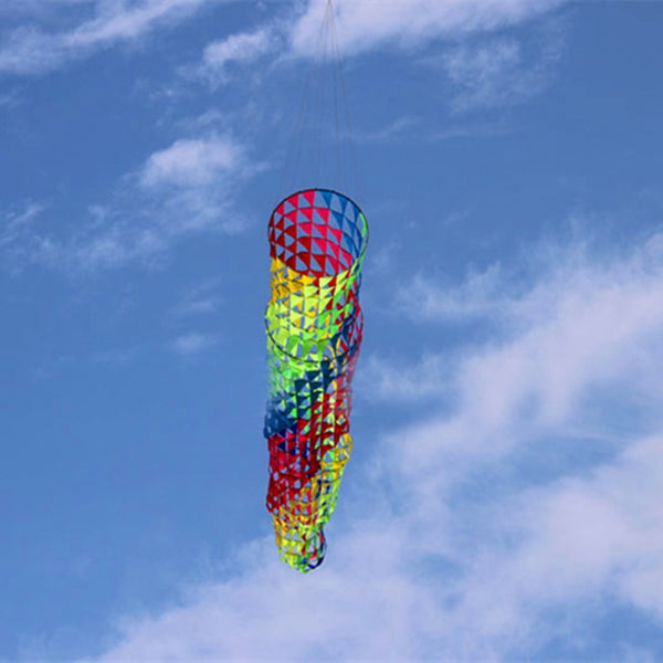 Free shipping high quality 5m colorful windsocks kites so beautiful ripstop nylon fabric kite  parachute kitesurfing wei kites