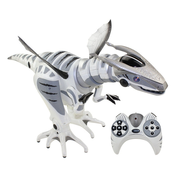 [Funny Multi-function Jurassic sensing intelligent infrared remote control RC robot programming mechanical dinosaur robosaur toy