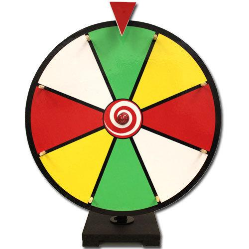 "16"" Color Dry Erase Prize Wheel"