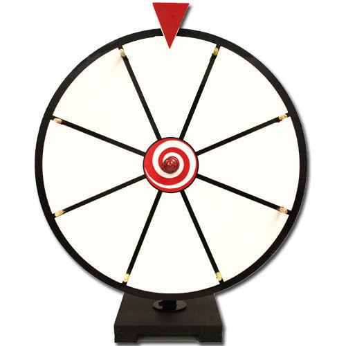 "16"" White Dry Erase Prize Wheel"