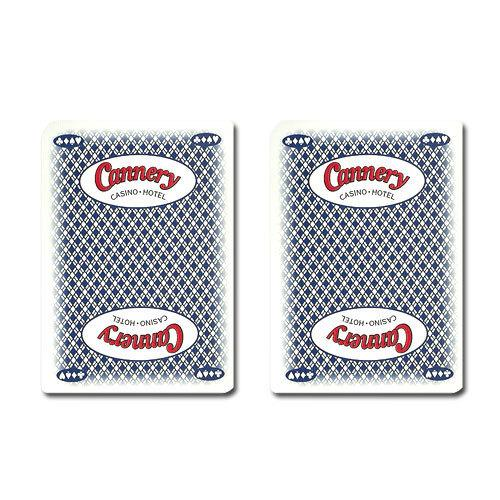Single Deck Used in Casino Playing Cards - Cannery