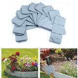 Garden Decorations Artificial Fence Pebbles Stones Gardening Parterre Brick Wall Molds Border