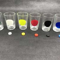 Coin Party Games Roulette Drinking Bar Game With 6 Glass Cups And 1 Board