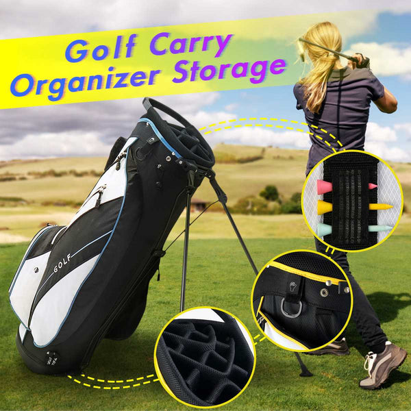 Golf Bag Freestanding Portable Ultraportability Edition Super Light Large Capacity Bag Golf Lightweight Stand Carry Bag