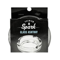 Premium Clear Glass Ashtray ( Case of 12 )