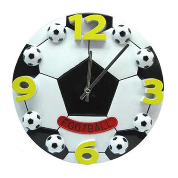 HOT-Creative World Cup football living room the bedroom wall clock fashion modern clocks decoration clock mute wall clock