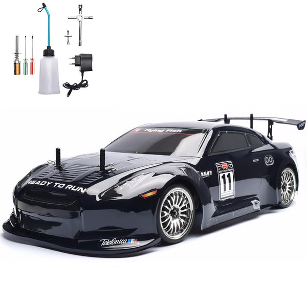 HSP RC Car 4wd 1:10 On Road Touring Racing Two Speed Drift Vehicle Toys 4x4 Nitro Gas Power High Speed Hobby Remote Control Car