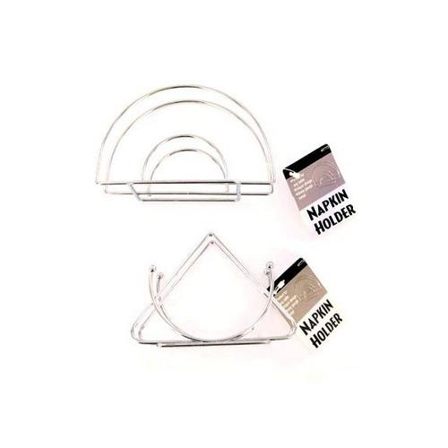 Wire Chrome Napkin Holder ( Case of 48 )