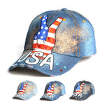 New Arrival Gorras USA Baseball Cap Flag Of USA Hat Snapback Adjuatable Mens Baseball Caps Brand New For Adult