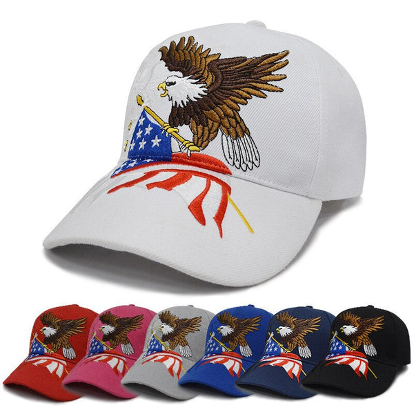 2019 Black Cap USA Flag Eagle Embroidery Baseball Cap Snapback Caps Casquette Hat Fitted Gorras Dad Hats For Men Women