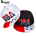 2019 New American Flag Snapback Hats Brand USA Letter Cotton Gorras Hip hop Snapback Caps Men Women Baseball Cap Bones