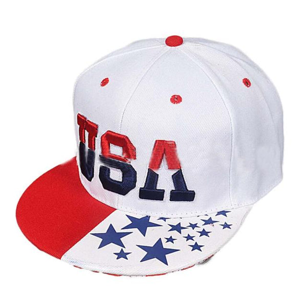 USA American Flag Snapback Cap Adjustable United States Baseball Cap Hat3.28    30#