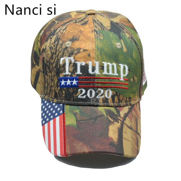 Trump 2020 Hat USA Flag Baseball Cap Men Women Snapback Hats Embroidery Bone Unisex Casual Trump Snapback Cap Gorras