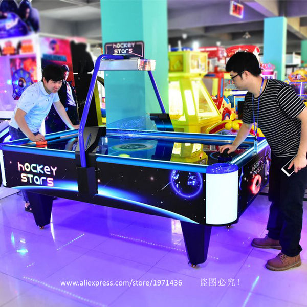 High Quality Amusement Equipment Coin Operated Arcade Game Machine Air Hockey Table For Adults Teenagers