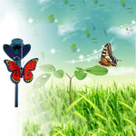 Butterfly Solar Power Simulation Dancing Flying Fluttering Simulation Butterfly Garden Decoration