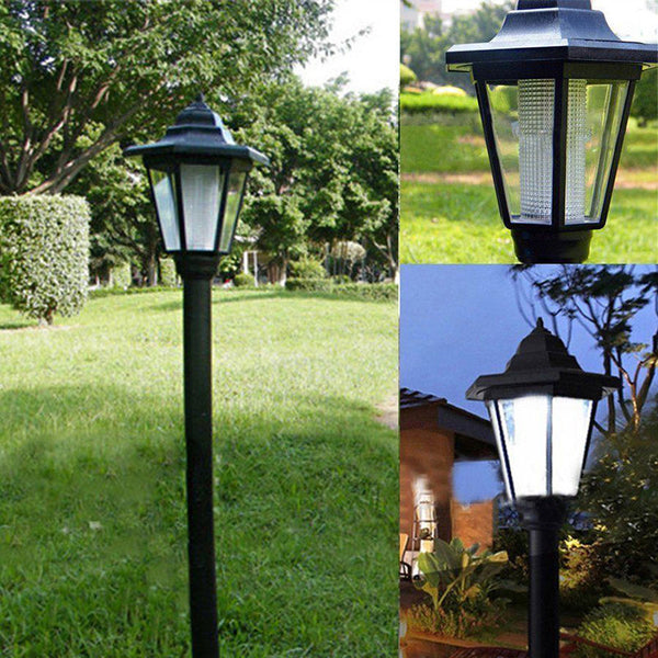 Home Garden Solar Night Light Outdoor Solar Power LED Path Way Wall Landscape Mount Garden Fence Outdoor Lamp Street Light