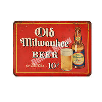 Plaque Retro Metal Tin Signs Home Bar Pub Casino Decorative Plates