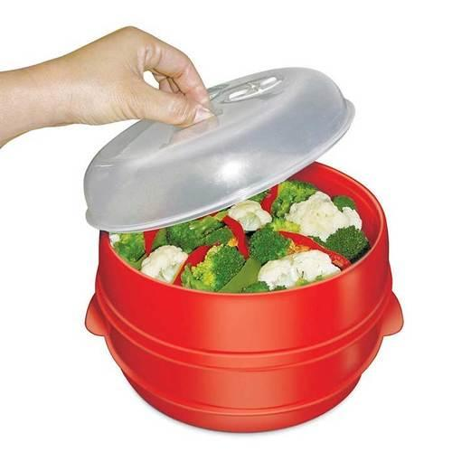Handy Gourmet 2Tier Microwave Steamer