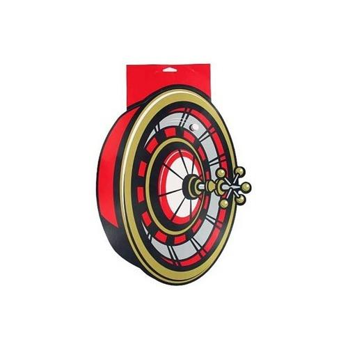 Roulette Wheel Cardboard Party Cutout ( Case of 72 )