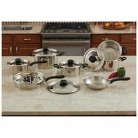 18pc Stainless Steel Cookware Set