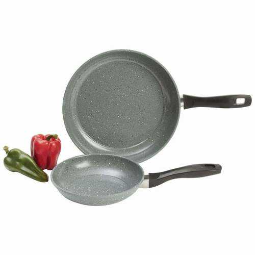 2pc Non-Stick Carbon Steel Frypan Set