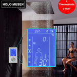 LCD Smart Touch Screen Digital Shower Control Thermostat Shower Mixer Thermostatic Shower Panel Digitale Douche Thermostaat