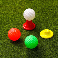 1 Set Golf Club Suit Creative High-quality Outdoor ABS Golf Ball Kit Parent-child Toys for Kids Children
