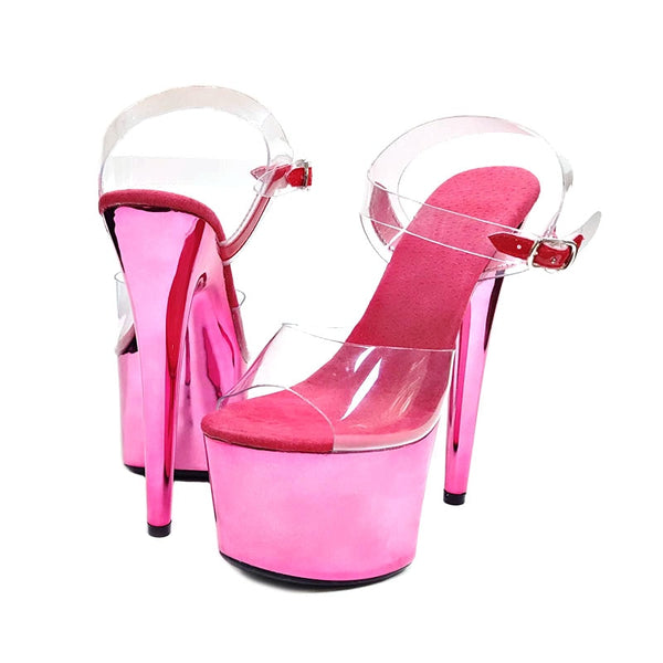 Calendars, Planners & Cards Leecabe New Materials Covered Heels Womens Platform Sandals Pole Dancing Shoes 8 Inch High Heels Shoes Ladies Shoes