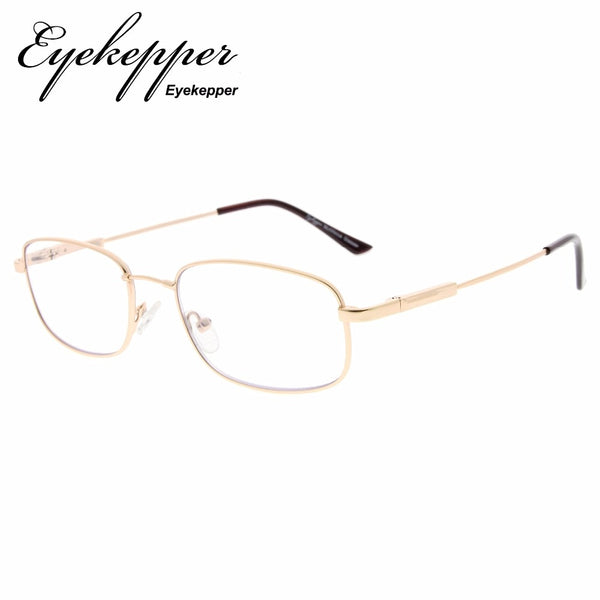 M1703 Eyekepper UV Protection Progressive Reading Glasses 3 Levels Multifocus Readers Men Women Bendable Memory Frame