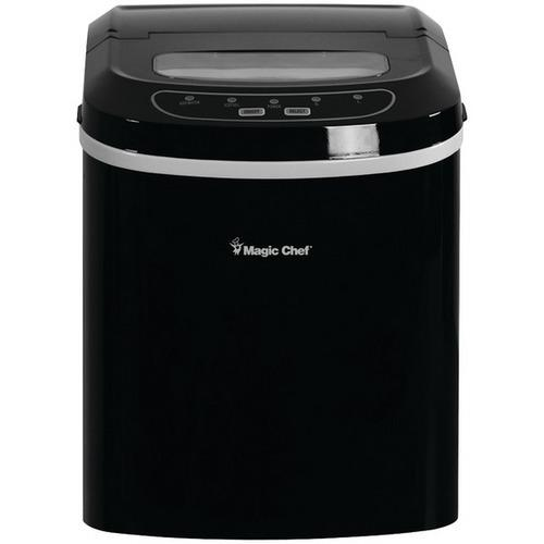 Magic Chef(R) MCIM22B 27lb-Capacity Ice Maker (Black)