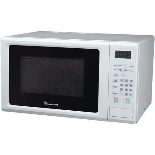 Magic Chef(R) MCM1110W 1.1 Cubic-ft, 1,000-Watt Microwave with Digital Touch (White)