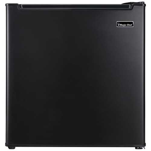 Magic Chef(R) MCR170BE 1.7 Cubic-ft Manual Defrost Refrigerator (Black)