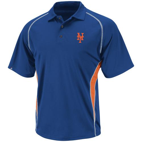 New York Mets Athletic Advantage Synthetic Polo Medium