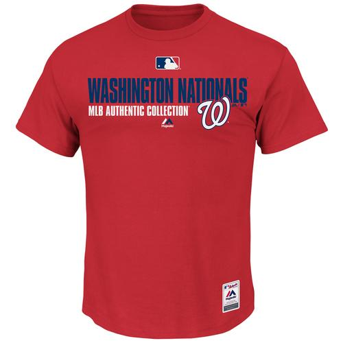 Washington Nationals Majestic MLB Authentic Collection Fan Favorite T-Shirt  Small