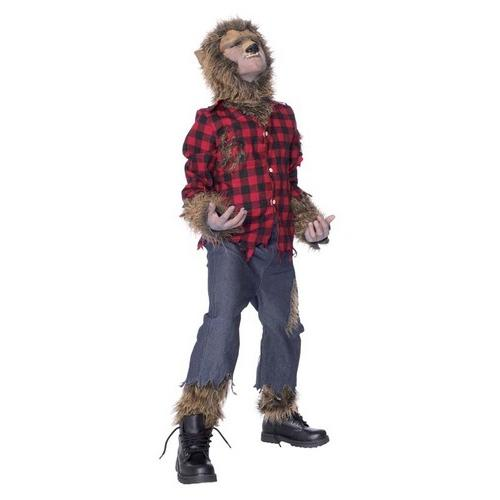 WOLFMAN CHILD COSTUME MED 8-10