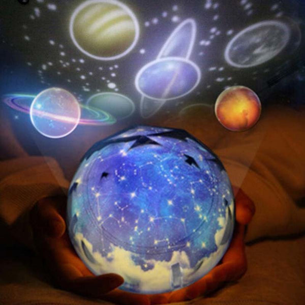 Magic Planet Projector LED Night Light Universe 3D Lamp Colorful Flashing Starry Sky Projector Luminaria Kids Children Best Gift