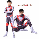 Marvel Avengers Endgame Quantum Realm Advanced Tech Cosplay Costumes 2019 New Superhero Iron Man Jumpsuit Bodysuit Zentai Suit