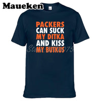 Men Cutler Makes 6 Chicago PACKERS CAN Suck My Ditka Kiss My Butkus T-shirt Clothes T Shirt Men's tshirt o-neck tee W19031199