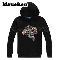 Men Hoodies Strong Crushed Cowboy Sweatshirts Hooded Thick Lace-up for Dallas fans gift Autumn Winter W17102205
