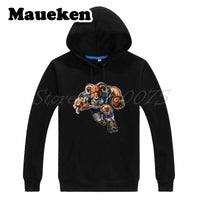 Men Hoodies Strong Rams Ravaging Sweatshirts Hooded Thick for St. Louis fans gift Autumn Winter W17112916
