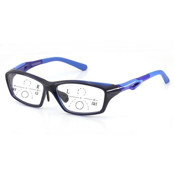 Men Style Tr90 Photochromic Progressive Reading Glasses Quality Fashion Presbyopia Sports Eye Glasses for Men See Far & See near